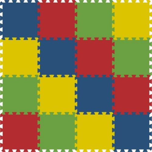 Malý neposeda Pěnové puzzle koberec 16 dílků cena od 419 Kč
