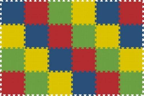 Malý neposeda Pěnové puzzle koberec 24 dílků
