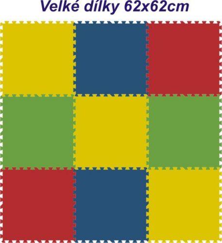Malý neposeda Pěnové puzzle koberec 9 dílků cena od 619 Kč