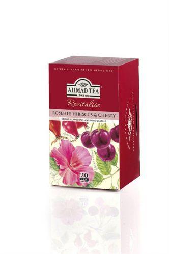 Ahmad Tea Šípek a třešeň 20 x 2 g cena od 85 Kč