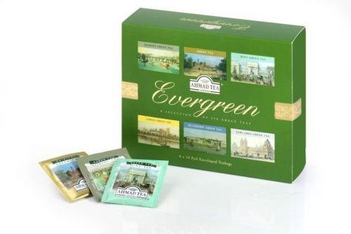 Ahmad Tea Evergreen Dárkové balení čajů 60 ks