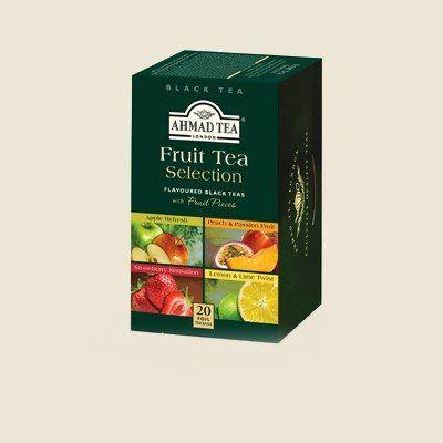 Ahmad Tea Výběr černých čajů s příchutí 20 x 2 g cena od 85 Kč