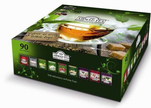 Ahmad Tea 9 čajových pokladů Dárkové balení čajů 90 ks