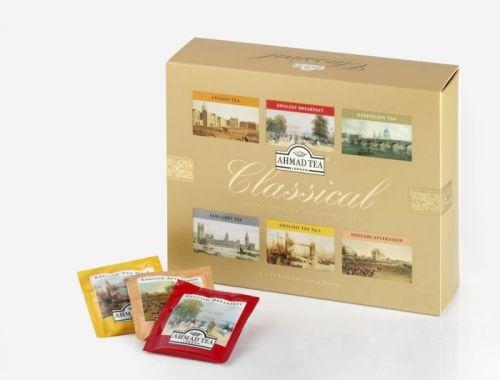 Ahmad Tea Classical Dárkové balení čajů 60 ks