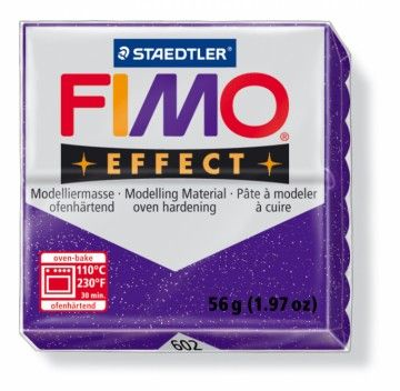 STAEDTLER FIMO effect fialová 56 g cena od 47 Kč