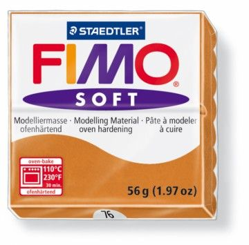STAEDTLER FIMO soft karamelová 56 g cena od 49 Kč