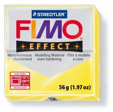 STAEDTLER FIMO effect transparentní žlutá 56 g cena od 49 Kč