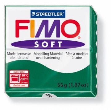 STAEDTLER FIMO soft tmavě zelená 56 g cena od 47 Kč