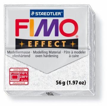 STAEDTLER FIMO effect metalická bílá 56 g cena od 47 Kč