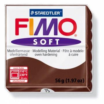 STAEDTLER FIMO soft čokoládová 56 g cena od 45 Kč