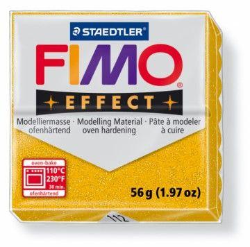STAEDTLER FIMO effect zlatá 56 g cena od 49 Kč