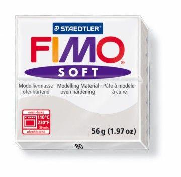 STAEDTLER FIMO soft šedá 56 g cena od 47 Kč