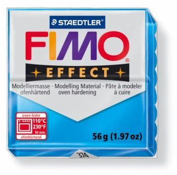 STAEDTLER FIMO effect transparentní modrá 56 g cena od 49 Kč