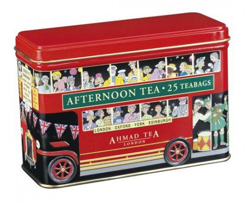 Ahmad Tea Afternoon Tea London Bus 25 ks