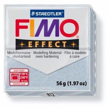 STAEDTLER FIMO effect stříbrná 56 g cena od 49 Kč