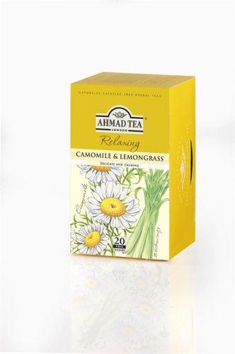 Ahmad Tea Heřmánek a citronová tráva 20 x 1,5 g