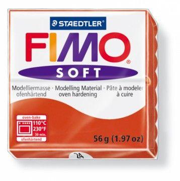 STAEDTLER FIMO soft červená 56 g cena od 47 Kč