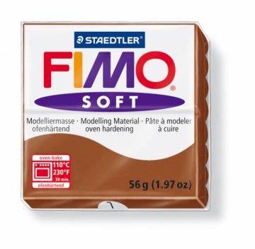 STAEDTLER FIMO soft hnědá 56 g cena od 49 Kč