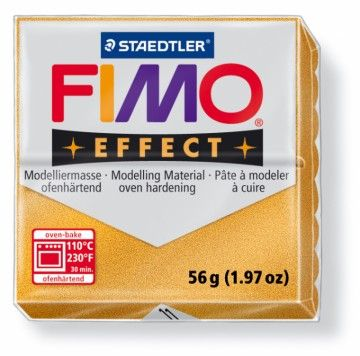 STAEDTLER FIMO effect metalická zlatá 56 g cena od 49 Kč