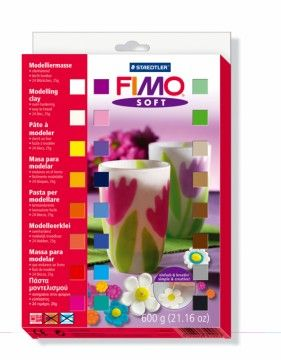 STAEDTLER FIMO soft sada 24 barev cena od 638 Kč