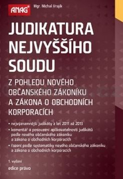 Michal Vrajík: Judikatura Nejvyššího soudu z pohledu nového občanského zákoníku... cena od 654 Kč