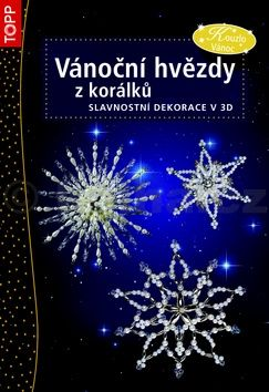 Vánoční hvězdy z korálků cena od 86 Kč