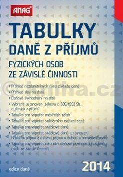 Tabulky daně z příjmů fyzických osob ze závislé činnosti 2014 cena od 119 Kč