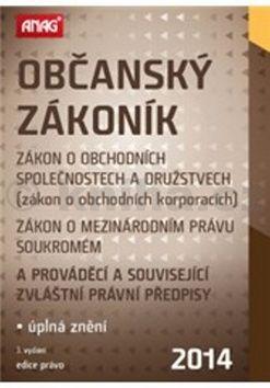 Občanský zákoník 2014 cena od 297 Kč
