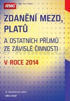 Petr Pelech: Zdanění mezd, platů v roce 2014 cena od 288 Kč