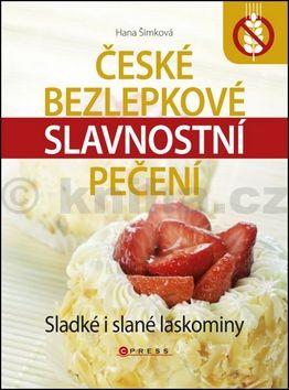 Hana Šimková: České bezlepkové slavnostní pečení cena od 169 Kč