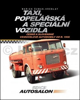 Marián Šuman-Hreblay: Taxi, popelářská a speciální vozidla cena od 250 Kč