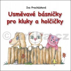 Iva Procházková: Usměvavé básničky pro kluky a holčičky cena od 59 Kč