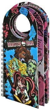 Zadrožna Dominika: Monster High - Monstrózní visačky na dveře cena od 69 Kč