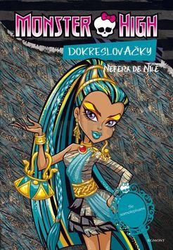 Nettlová Klára: Monster High - Nefera de Nile + Operetta - Dokreslovačky se samolepkami cena od 59 Kč