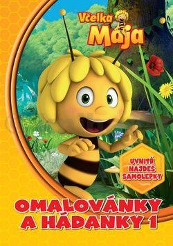 Mrázová Alena: Včelka Mája - Omalovánky a hádanky 1 cena od 99 Kč