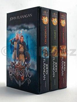 John Flanagan: Bratrstvo 1-3 díl (3 knihy v dárkovém bodxu) cena od 542 Kč