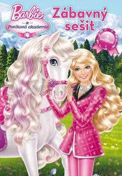 Mattel: Barbie a Poníková akademie zábavný sešit cena od 88 Kč