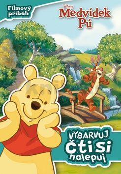 Walt Disney: Medvídek Pú - Filmový příběh: vybarvuj, čti si, nalepuj cena od 80 Kč