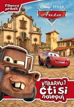 Walt Disney: Auta - Filmový příběh: vybarvuj, čti si, nalepuj cena od 80 Kč