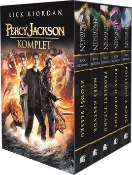 Rick Riordan: PERCY JACKSON - komplet 1.-5.díl - box cena od 543 Kč