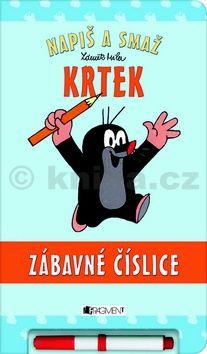 Zdeněk Miler: Krtek - zábavná číslice (Napiš a smaž) cena od 169 Kč