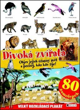 Piccolia Collectif: Divoká zvířata - velký rozkládací plakát, 80 samolepek cena od 111 Kč