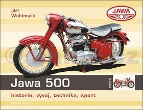 Jiří Wohlmuth: Jawa 500 - historie, vývoj, technika, sport cena od 294 Kč