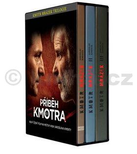 Jaroslav Kmenta: Kmotr Mrázek - Trilogie 1.–3. díl - brož. cena od 351 Kč