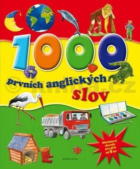 1000 prvních anglických slov - Obrázkový slovník pro děti od 5 let cena od 79 Kč