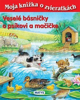 Sibyla Mislovičová: Veselé básničky o psíkovi a mačičke cena od 125 Kč