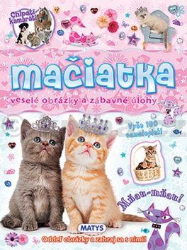 Mačiatka - veselé obrázky a zábavné úlohy cena od 66 Kč