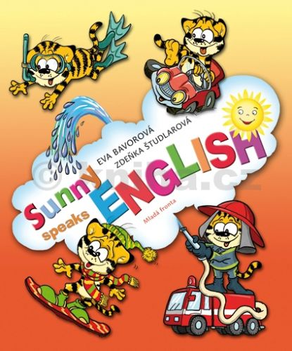 Eva Bavorová: Sunny speaks English 1 cena od 135 Kč
