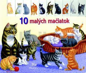 10 malých mačiatok cena od 180 Kč