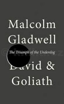 Malcolm Gladwell: David and Goliath cena od 47 Kč